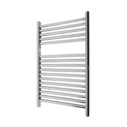 Abacus Elegance Linea Straight Towel Rail - 750mm x 400mm - Chrome